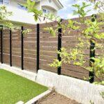 坂城町 人工芝と植栽の自然あふれる外構プラン